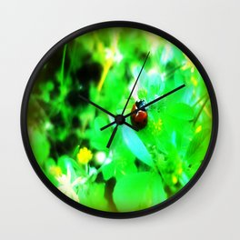 Luck Be a Lady Wall Clock