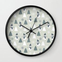 Holiday Cheers 2 Wall Clock