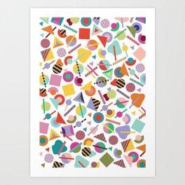 Less is a Bore Summer Art Print