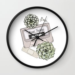 Mixed Feelings Wall Clock