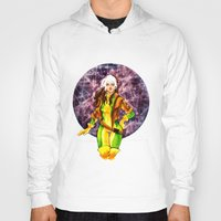 rogue Hoodies featuring Rogue by Doodleholic