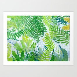 Spring series no. 5 Art Print