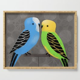 PARAKEETS Serving Tray