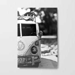 Tiny Bus Metal Print