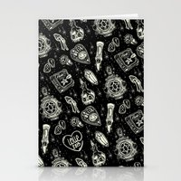 loll3 Stationery Cards featuring Magical Mystical  by lOll3