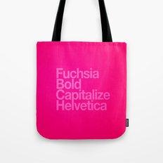 MetaType Fuschia Tote Bag