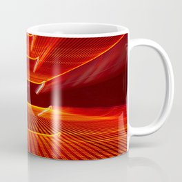 Abstract Reading Pagoda Night Photo Coffee Mug