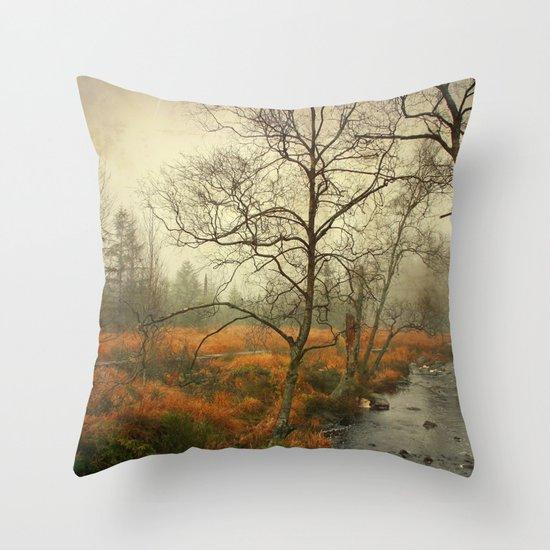 november reigns Throw Pillow