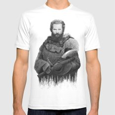 Tormund from GAME OF THRONES Mens Fitted Tee White MEDIUM