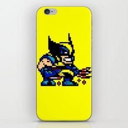 Wolvey Pixels iPhone Skin
