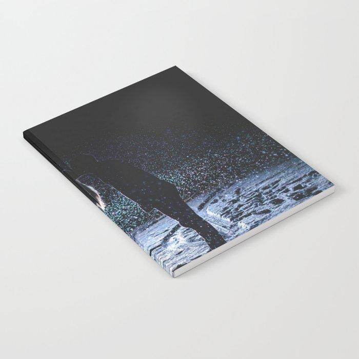 Valentine's Day Love Kiss ( Couple Valentine Gift / Girlfriend Gifts ) Notebook