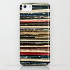 Records iPhone 5c Slim Case