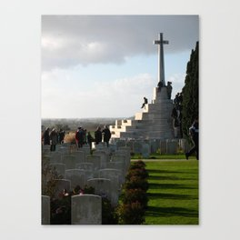 Moment of Silence Canvas Print