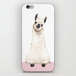 hi! Llama iPhone Skin