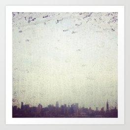 Dirty NYC Art Print
