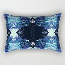 Nashira - Abstract Costellation Painting Rectangular Pillow