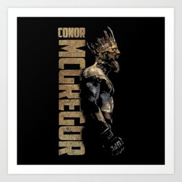 CONOR MCGREGOR Art Print