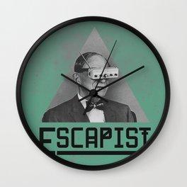 Escapist Wall Clock