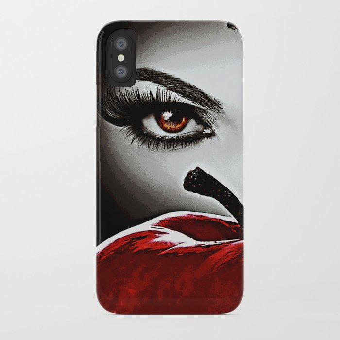 Once Upon A Time - Evil Heart iPhone Case