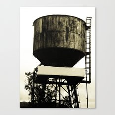 WATER TANK Canvas Print
