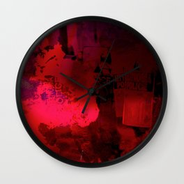 Poor Jackson Wall Clock