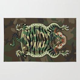 TIBETAN TIGER - CAMOUFLAGE Rug