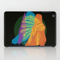 headdress iPad Cases featuring Headdress  by kpatron