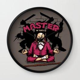 Master of Turtles Wall Clock