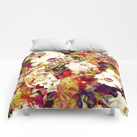 flowers profusion Comforters