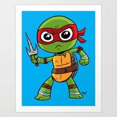 TMNT Raphael Art Print
