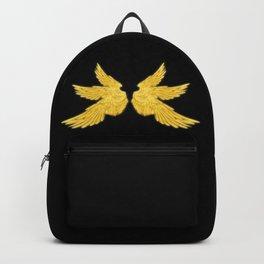 Golden Archangel Wings Backpack