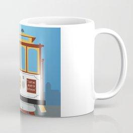 San Francisco, California - Skyline Illustration by Loose Petals Coffee Mug