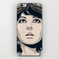 pilot iPhone & iPod Skins featuring Pilot by Kimball Gray