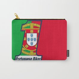 Portuguese Biker Flag Carry-All Pouch