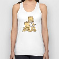 face Tank Tops featuring The Original Copycat by Picomodi