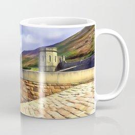 The Silent Valley, Ireland. (Painting) Coffee Mug