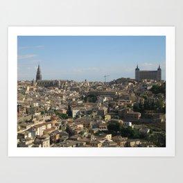 Toledo, Mi Amor Art Print