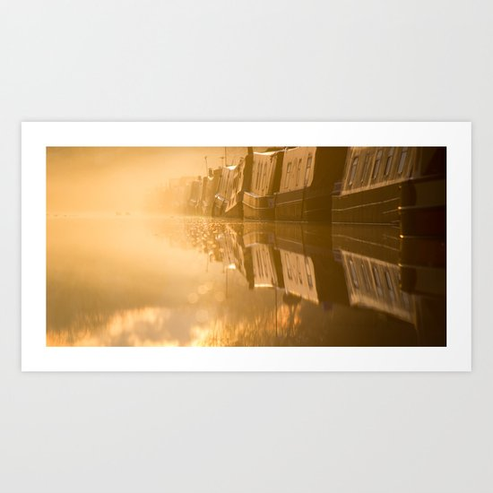 Touching the Dawn Art Print