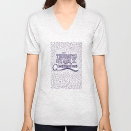My Thoughts Are Stars I Can't Fathom Into Constellations Unisex V-Neck