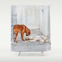 Good Morning My Dear! Shower Curtain