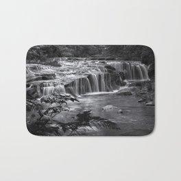 Ledge Falls, No. 4 bw Bath Mat