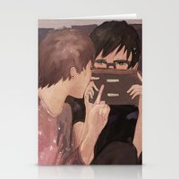 danisnotonfire Stationery Cards featuring DAN AND PHIL GAMES by Alliandoalice