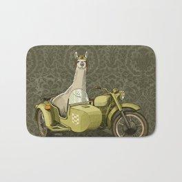 Sidecar Llama Bath Mat