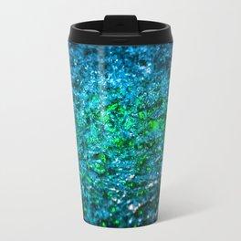 Water Color - Green Travel Mug
