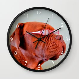 Fashion Dogue de Bordeaux Wall Clock