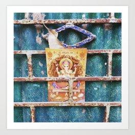 Ganesha in Kolkata India Art Print