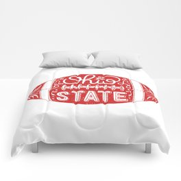 Ohio State Football Comforters