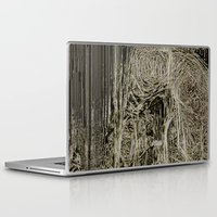 lungs Laptop & iPad Skins featuring Diseased Lungs by tastypaper
