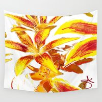 lily Wall Tapestries featuring Lily by ANoelleJay