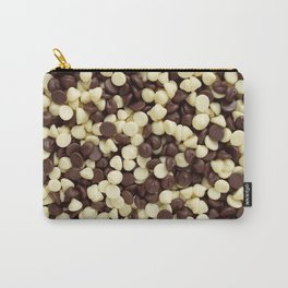 Dark and white chocolate chips Carry-All Pouch